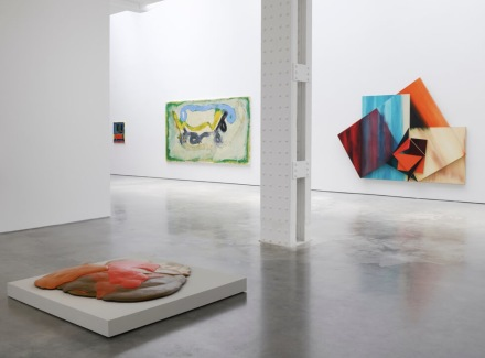 Painters Reply Experimental Painting in the 1970s and now (Installation View), via Lisson