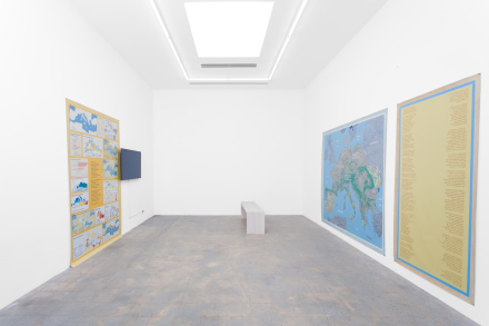 The Harrisons, Counter Extinction Work (Installation View), via Various Small Fires