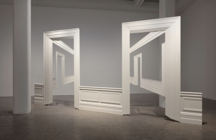 Walid Raad Atlas Group, Section 88_Act XXXI Views from outer to inner compartments (2010), via Paula Cooper