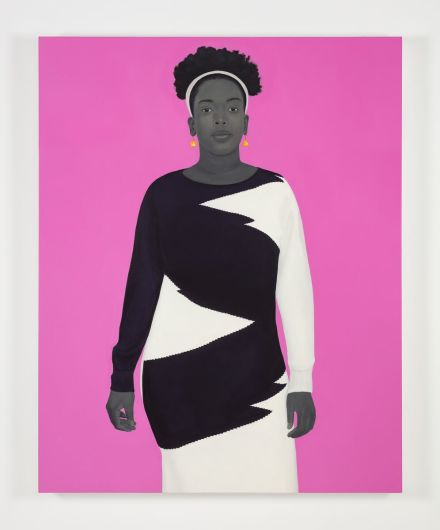 Amy Sherald, Sometimes the King is a Woman (2019), via Hasuer & Wirth