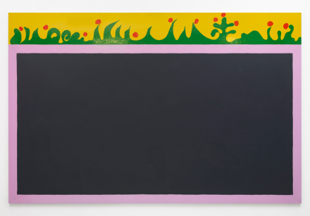 Gary Hume, The Blackboard (2019), via Matthew Marks