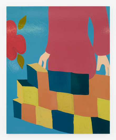 Gary Hume, The Teacher (2019), via Matthew Marks