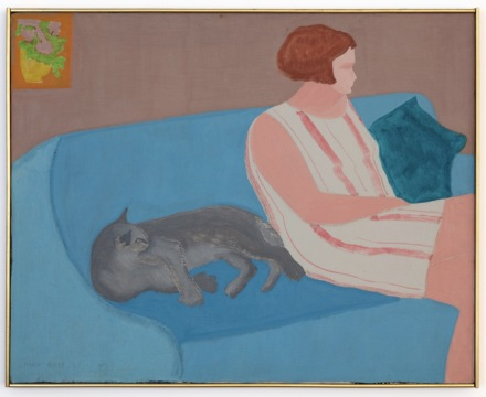 March Avery, Sofa Companions (1967), via Blum & Poe