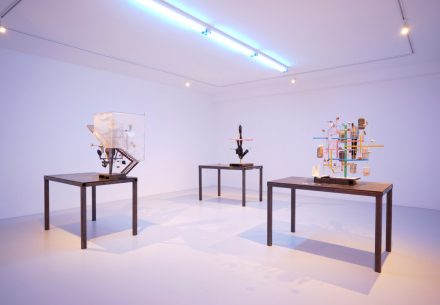 Nick van Woert, Body Parts (Installation View), via Grimm
