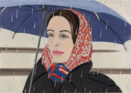Alex Katz, Blue Umbrella I (1972), via Phillips