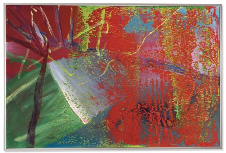 Gerhard Richter, Abstraktes Bild (1984), via Christie's