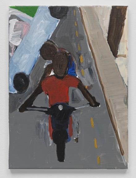 Henry Taylor, Dakar, Sengal #11 (2019), via Blum & Poe