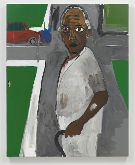 Henry Taylor, Not Yet Titled (2019), via Blum & Poe