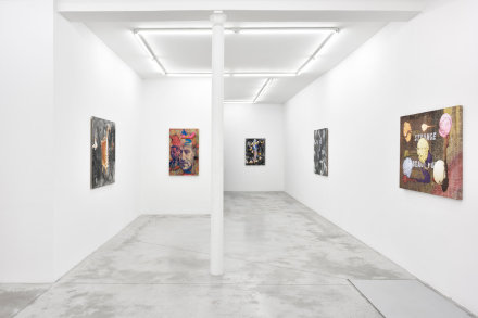 Jim Shaw, Strange Beautiful (Installation View), via Praz-Delavallade