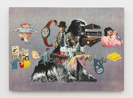 Jim Shaw, The Checkers Speech (2019.), via Praz-Delavallade