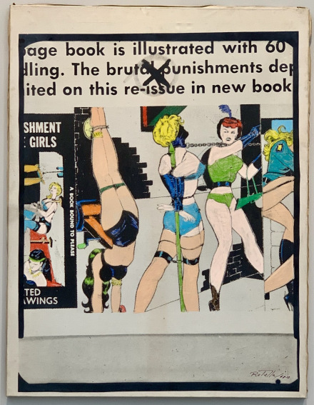 Mimmo Rotella, The brutal punishment (1968 -1978) via Cardi Gallery