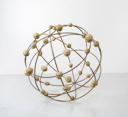 Mona Hatoum, Orbital II (2018), via Chantal Crousel
