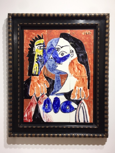 Pablo Picasso at Gagosian, via Andrea Nguyen for Art Observed