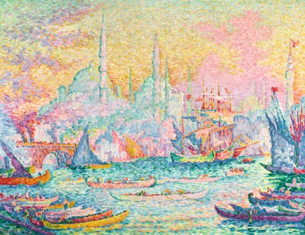Paul Signac, La Corne d'Or (Constantinople) (1907), via Sotheby's