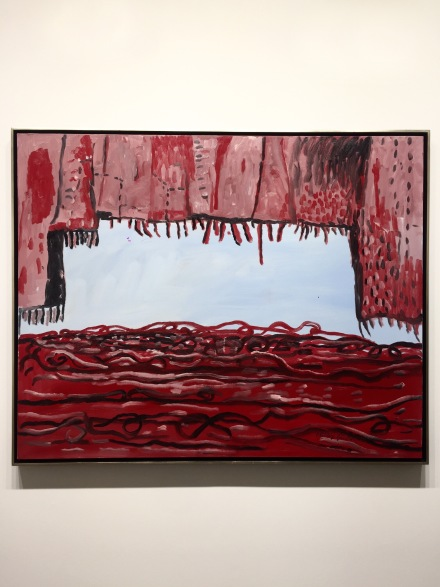 Philip Guston at Hauser & Wirth, via Andrea Nguyen for Art Observed