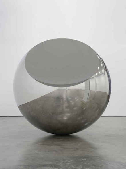 Anish Kapoor, New Born (2019), via Lisson