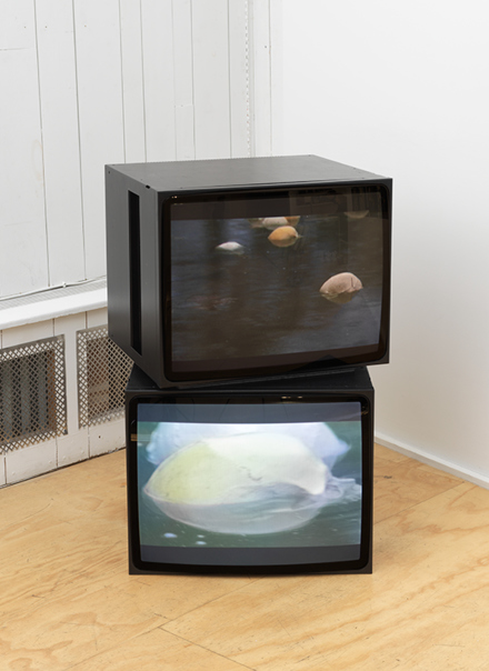 Douglas Gordon, Video Diptych (2008), via Eva Presenhuber