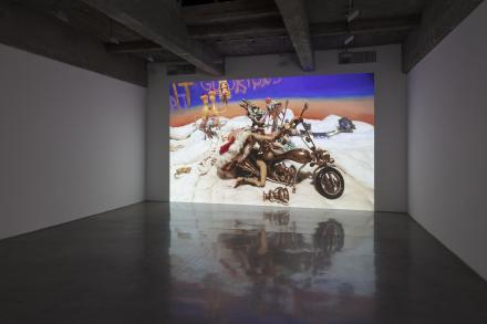 Nathalie Djurberg & Hans Berg, One Last Trip To The Underworld (Installlation View), via Tanya Bonakdar