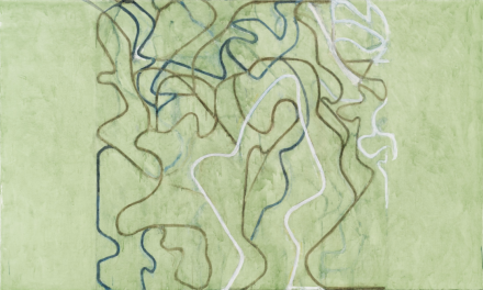 Brice Marden, Elevation (2018-2019), via Gagosian