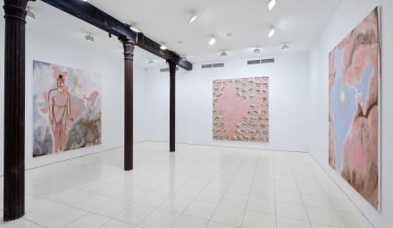 Francesco Clemente, India (Installation View), via Vito Schnabel Projects