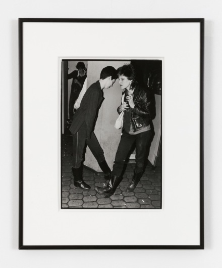 Bruce Conner, 27 PUNK PHOTOS 14, CLAUDIA AND RUBY (1978), via Paula Cooper