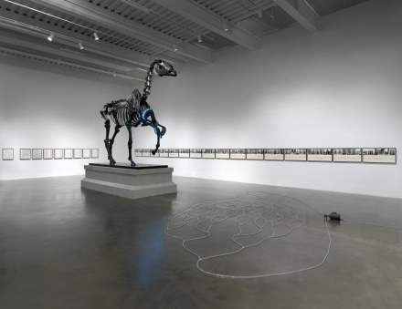 Hans Haacke, All Connected (Installation View), via New Museum