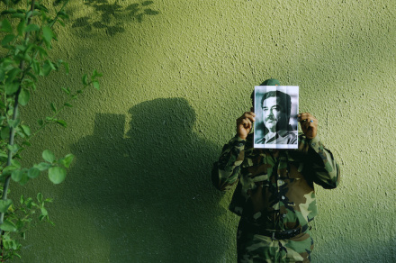 Jamal Penjweny- Work from the series Saddam is Here