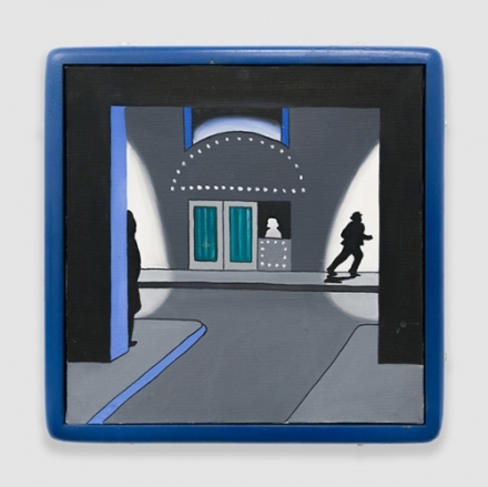 Roger Brown, Runaway, (1968), via Venus Over Manhattan