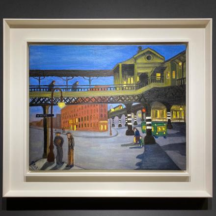 Alice Neel at Cheim & Read, via Art Observed