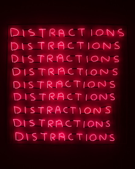 David Shrigley, Distractions (2018), via Stephen Friedman
