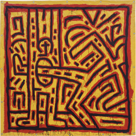Keith Haring, Untitled (1981), via Phillips