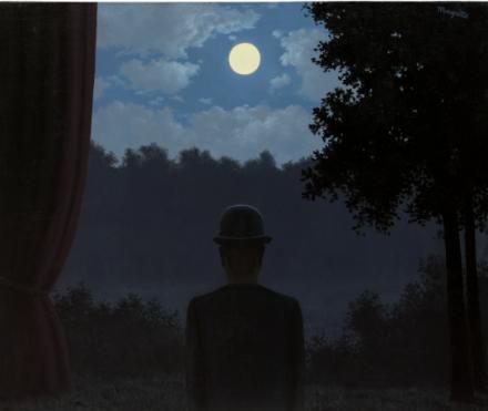 Rene Magritte, A la rencontre du plaisir (1962), final priceL 18,933,750, via Christie's