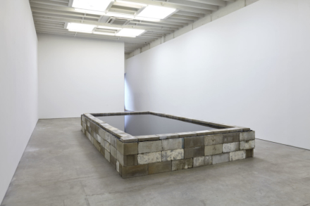 Robert Grosvenor, Untitled (2020), via Karma