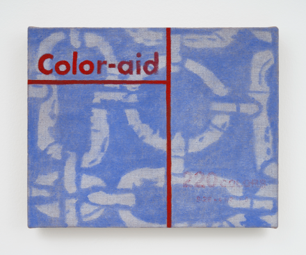 Leidy Churchman, Color-aid (2020), via Matthew Marks