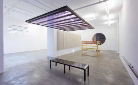 Liam Gillick, Redaction (Installation View), via Casey Kaplan