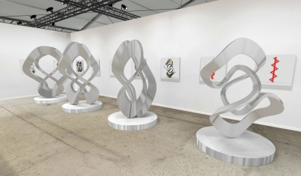 Sculptures by Anton Bakker at Walker Fine Art, via Hamptons Fine Art