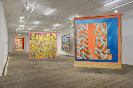 Lisa Alvarado, Thalweg (Installation View), via Bridget Donahue
