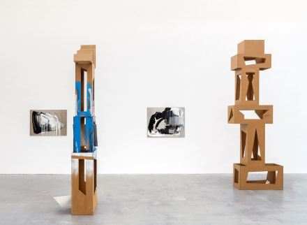 Isa Genzken, Paris New York (Installation View), via David Zwirner