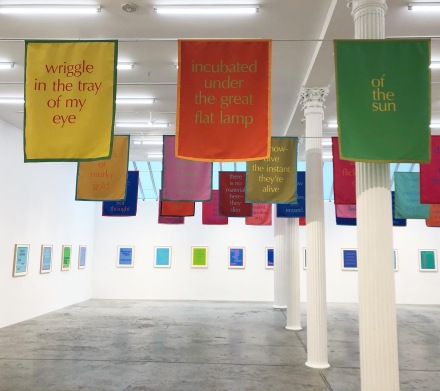Renée Green, Excerpts (Installation View), via Art Observed