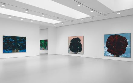 Harold Ancart, Traveling Light (Installation View), via David Zwirner
