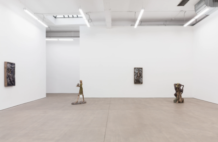 Jean-Marie Appriou, Very Rich Hours (Installation View), via Clearing