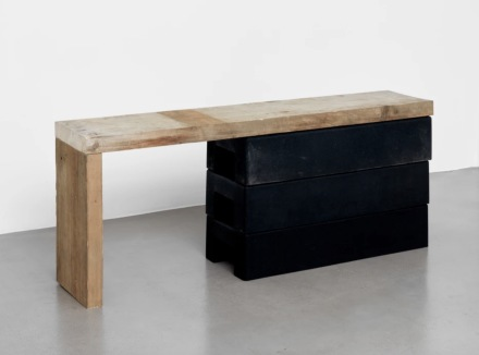 Klara Liden, Untitled (Bench) (2020), via Sadie Coles