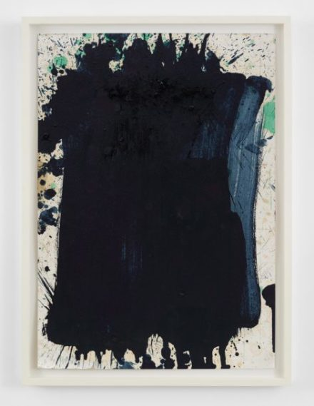 Pat Steir, Untitled (2008), via Levy Gorvy