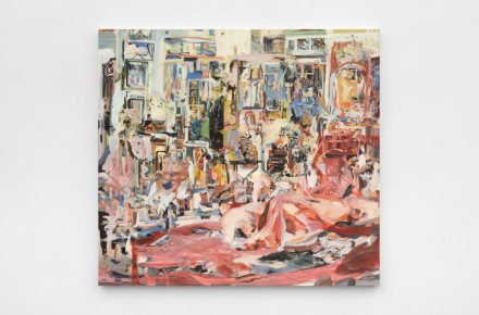 Cecily Brown, Selfie (2020), via Paula Cooper