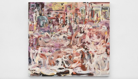 Cecily Brown, Up the Neck (2020), via Paula Cooper