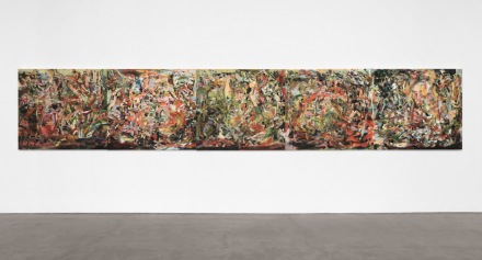 Cecily Brown, of nothing something still (2020), via Paula Cooper