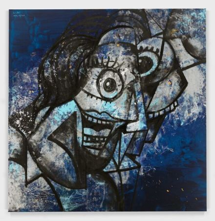 George Condo, Hysteria (2020), via Hauser & Wirth