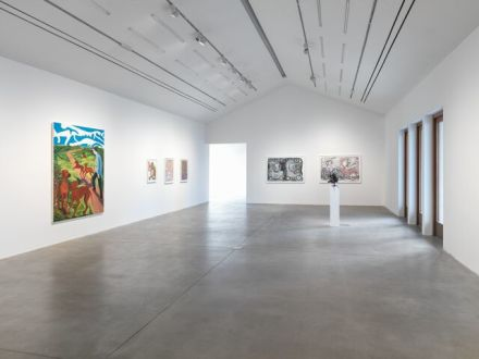 Nicole Eisenman, Where I Was, It Shall Be (Installation View), via Hauser & Wirth