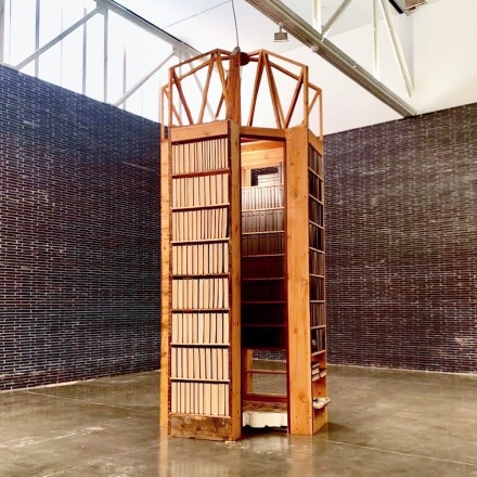 Theaster Gates, Black Vessel (Installation View), via Art Observed