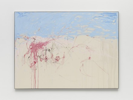 Tracey Emin, Every Single Thing changed because of You Because The sky is the sea (2020), via White Cube